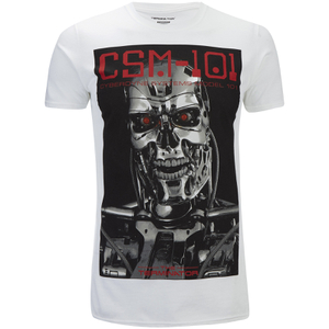 Terminator Men's CSM 101 T-Shirt - White