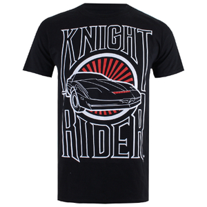 Knight Rider Men's Dark Knight T-Shirt - Black