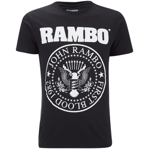 Rambo Seal Heren T-Shirt - Zwart