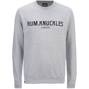 Rum Knuckles Men's London Crew Neck Sweatshirt - Heather Grey