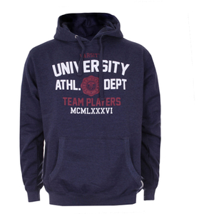 Sudadera capucha Varsity Team Players University Athletic - Hombre - Azul marino