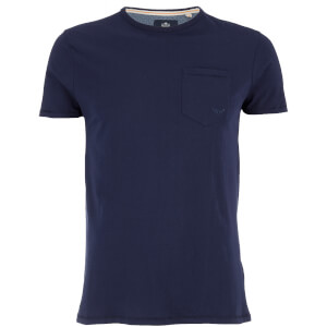 Threadbare Men's Jack Pocket Crew Neck T-Shirt - Navy