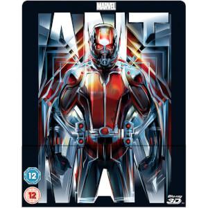 Ant-Man 3D (Includes 2D Version) - Zavvi Exclusive Lenticular Edition Steelbook
