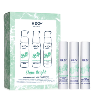 H2O+ Beauty Shine Bright Waterbright Mini Favorites