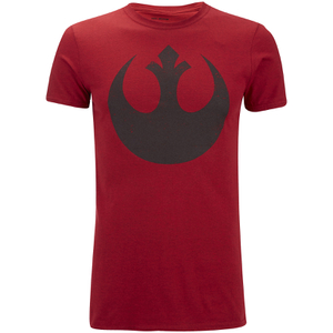 Star Wars Mens Rebel Alliance T-Shirt - Antique Cherry