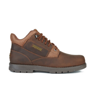 Rockport Men's Treeline Hike Plain Toe Boots - Boston Tan