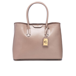 Lauren Ralph Lauren Women's Tate City Tote Bag - Porcini