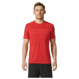 adidas Men's Supernova Running T-Shirt - Red