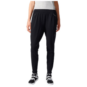 adidas Women's ZNE Tapered Training Pants - Black