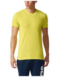 adidas Men's Prime Training T-Shirt - Yellow