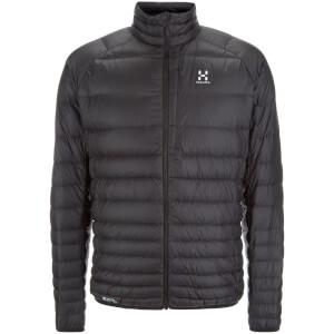 Haglofs Men's Essens III Down Jacket - True Black/Magnetite