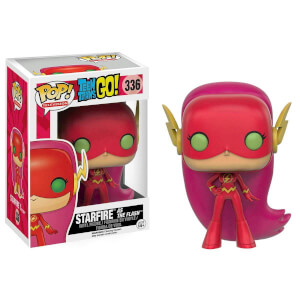 Teen Titans Go! Starfire as The Flash Limited Edition Funko Pop! Figuur