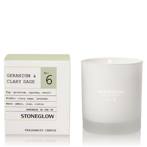 Stoneglow Modern Apothecary No. 6 Tumbler - Geranium and Clary Sage