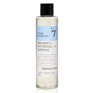 Stoneglow Modern Apothecary No. 7 Diffuser Refill - Bergamot, Patchouli and Oakmoss