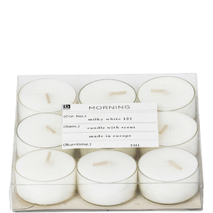 Broste Copenhagen Tealights - Coconut (Set of 9)
