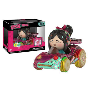 Disney Wreck-It Ralph Vanellope Dorbz ride & Dorbz Vinyl Figure SDCC 2016 Exclusive