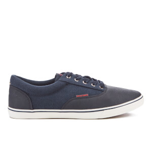 Jack & Jones Men's Vision Canvas Mix Pumps - Navy Blazer