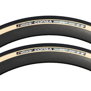 Vittoria Corsa G+ Isotech Tubular Tyre Twin Pack