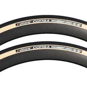 Vittoria Corsa G+ Isotech Tubular Tyre Twin Pack