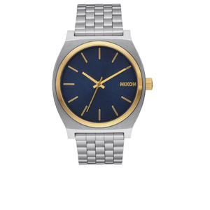 Nixon The Time Teller Watch - Gold/Blue Sunray