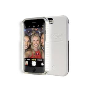 Lumee Illuminated Cell Phone Case for iPhone 6 Plus - White