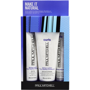 Paul Mitchell Make It Natural Gift Set (Worth £45.25)