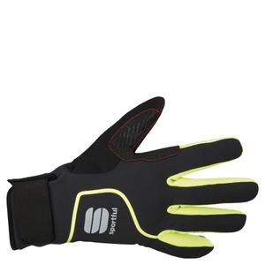 Sportful Sotto Zero Gloves - Black/Yellow