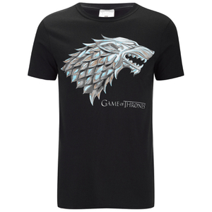 Game of Thrones Men's Stark Sigil T-Shirt - Schwarz