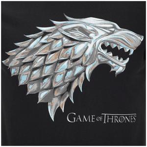 Game of Thrones Men's Stark Sigil T-Shirt - Black: Image 3
