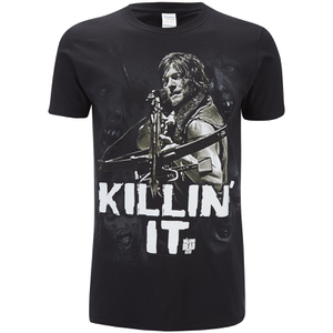 T-Shirt Homme The Walking Dead Killin It - Noir