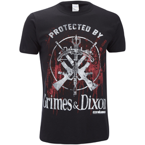 The Walking Dead Men's Grimes & Dixon T-Shirt - Black