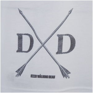 The Walking Dead Men's Dixon T-Shirt - White: Image 3