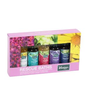 "Kneipp ""Rescue Baths"" Bath Oils Collection - 5x.67 fl oz (Set of 5)"