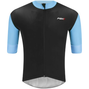 PBK Stelvio Water Repellent Short Sleeve Jersey - Light Blue