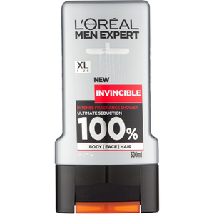 L'Oréal Paris Men 巴黎萊雅男士 Invincible Sport 沐浴凝膠 300ml