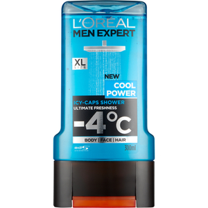 Gel de ducha Cool Power de L'Oréal Paris Men Expert 300 ml