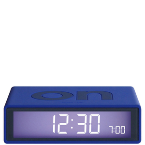Lexon Flip Clock - Blue