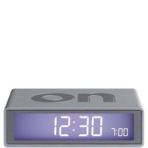 Lexon Flip Clock - Aluminium