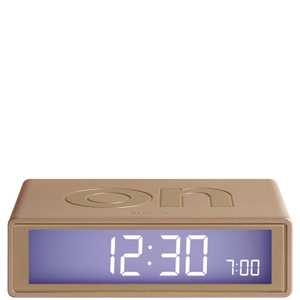 Lexon Flip Clock - Gold