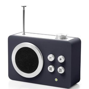 Lexon Mini Dolmen Radio - Black