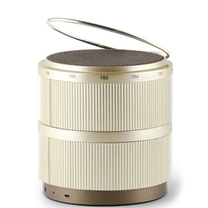 Lexon Fine Rechargeable Radio - Gold
