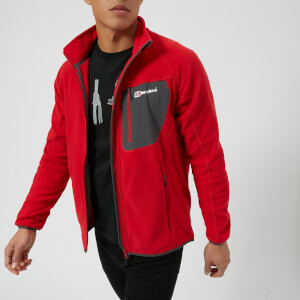 Berghaus Men's Deception Fleece Jacket - Haute Red