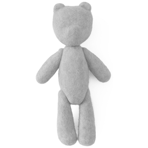 Menu Woollen Teddy Bear - Light Grey