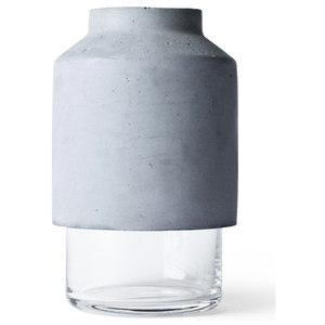 Menu Willmann Vase - Dark Grey