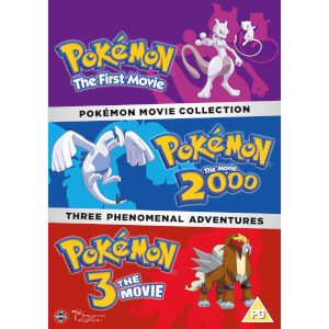 Pokemon Movie Collection (Pokemon The First Movie, Pokemon The Movie 2000, Pokemon 3 The Movie)