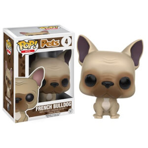 Figurine Pop! Pets Bouledogue Français Funko Pop!
