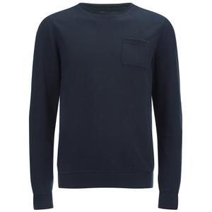 Dissident Men's Clere Pique Sweatshirt - True Navy