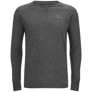 Tokyo Laundry Men's Port Hayward Long Sleeve Top - Charcoal Marl
