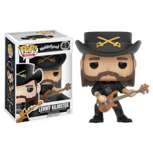 Pop! Rocks - Lemmy Kilmister (Motorhead) Figura Pop! Vinyl