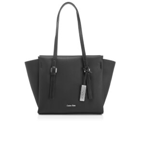 Calvin Klein Women's M4Rissa Medium Tote Bag - Black